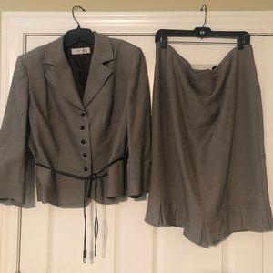 Brown Tahari Suit size 18W
